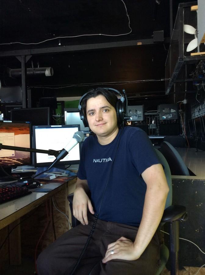 Jake Dalhman in Clutch Gaming Arena LAN Center.