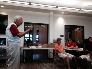 Legendary Guy Gibbs Speaks for Alumni Mentorship Series