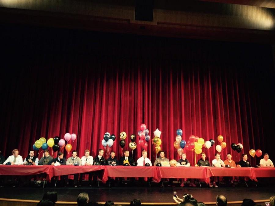 Regis Jesuit Boys Division National Signing Day Ceremony