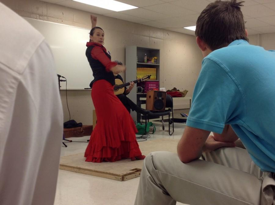 The audience is captivated by Flamenco.