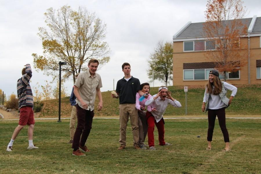Bocce+Ballers+having+a+blast+at+their+monthly+%22Frat+Friday%22+meeting.