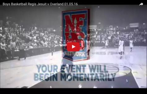 Boys Basketball: Regis Jesuit vs. Overland 01.05.16