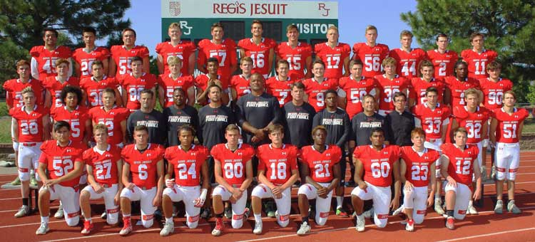 Regis+Jesuit+Football+Hoping+to+Finish+Strong+Going+Into+Playoffs