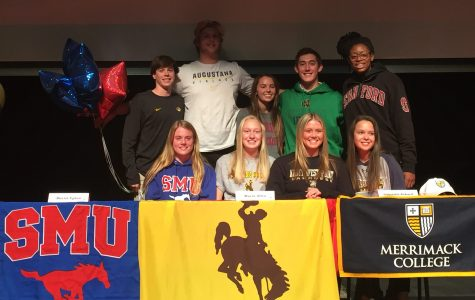 Nine Regis Jesuit Seniors Commit to Colleges on National Signing Day