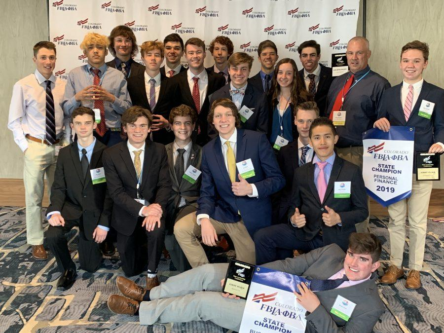 Regis Jesuit FBLA strikes gold at the state competition