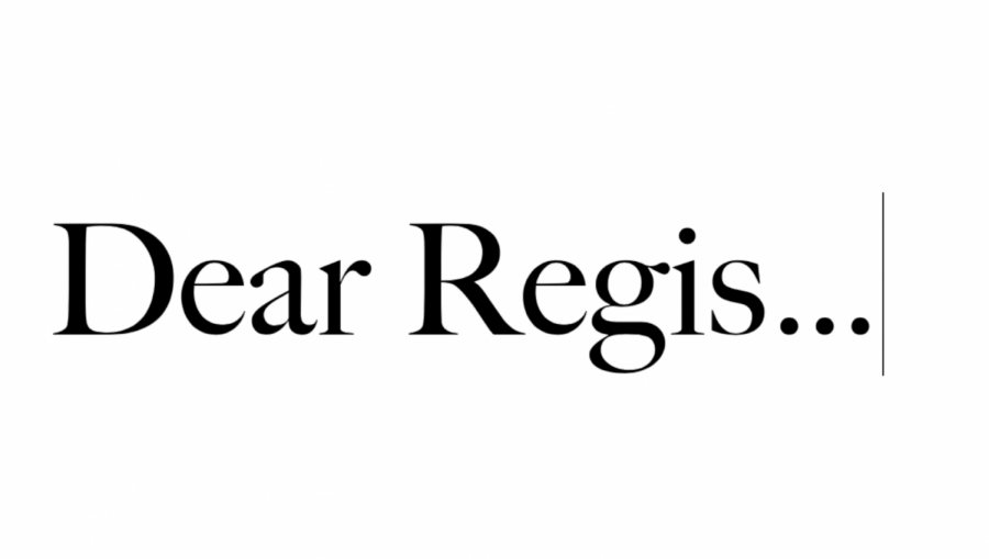 Dear Regis Jesuit, ... From the 2020 Graduating Class