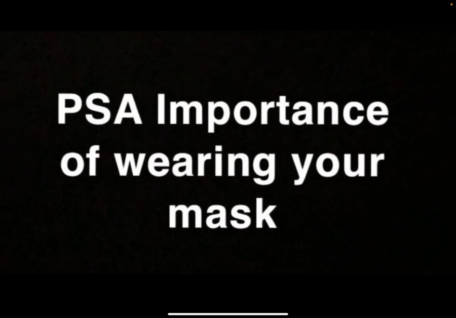 PSA: Importance of Wearing Masks