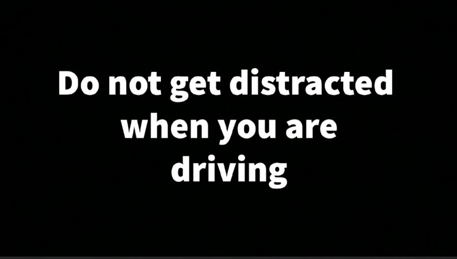 Distracted Driving PSA