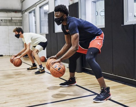 Under Armors releases an ad campaign promoting their new sports face masks, specifically made for use during exercise(Photo by Under Armor)