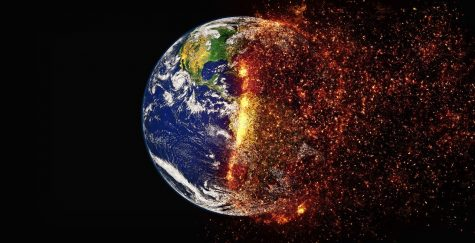 A picture symbolizing the potential effects of climate change, compliments of Pixabay